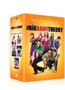 Coffret DVD the big bang theory saison 1 2 3 4 5