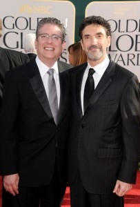 Chuck Lorre et Bill Prady