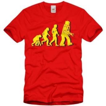 T-Shirt Evolution The Big Bang Theory