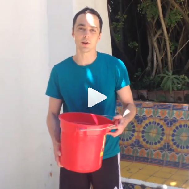 Ice Bucket Challenge Sheldon Cooper