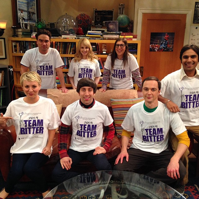 The Big Bang Theory soutient la fondation John Ritter