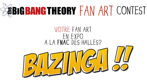FAN ART EXPO THE BIG BANG THEORY FRANCE