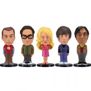 5 Figurines Big Bang Theory