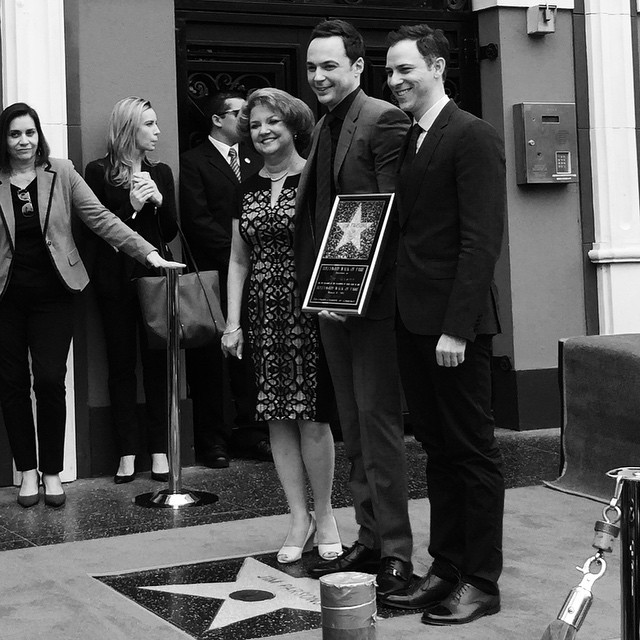 Jim Parsons récompensé de son étoile