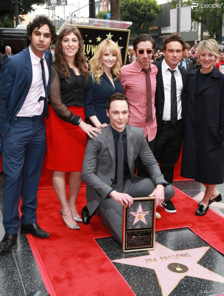 The big Bang theory : récompense de Jim Parsons étoilé