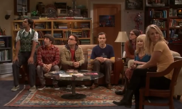 FLASH MOB THE BIG BANG THEORY