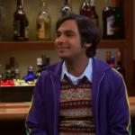 Rajesh Koothrappali au bar