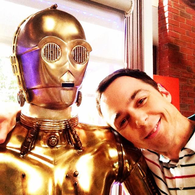 Sheldon Cooper et C3PO