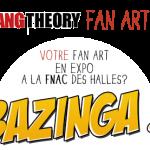 FAN ART EXPO THE BIG BANG THEORY FRANCE