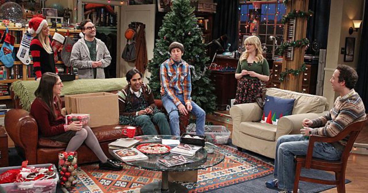 Cadeau de Noël The Big Bang Theory