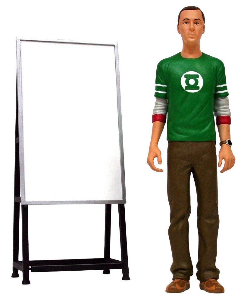 Figurine Sheldon Cooper et son tableau
