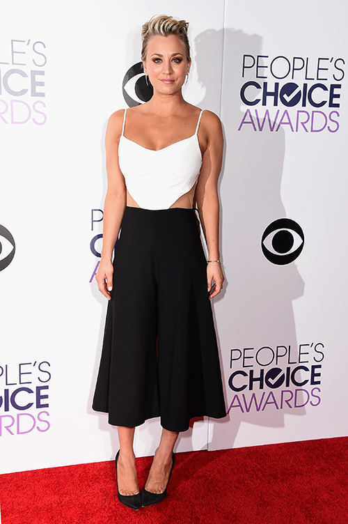 kaley cuoco people choice awards 2015