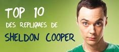 TOP 10 des répliques de Shledon Cooper