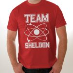 T shirt team sheldon rouge
