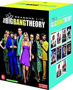 big bang theory saison 1 à 10